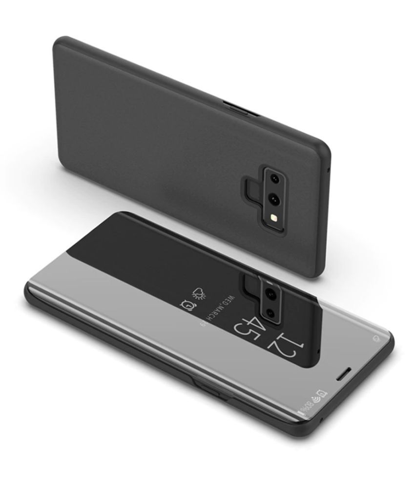 Samsung Galaxy A9 2018 Flip Cover by FineDeal - Black