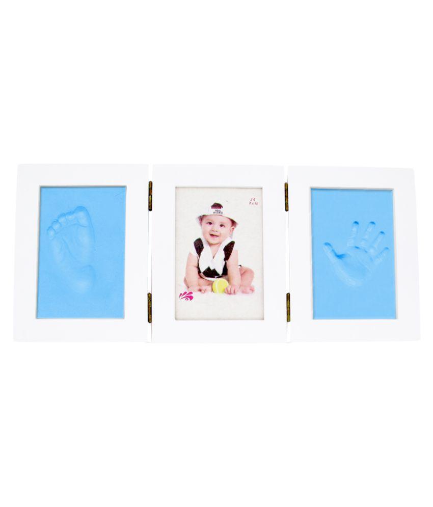 EZ Life Wood TableTop Blue Photo Frame Sets - Pack of 1