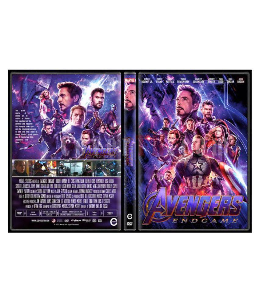 Avengers : End Game (Hindi Audio) ( Blu-ray )- Hindi