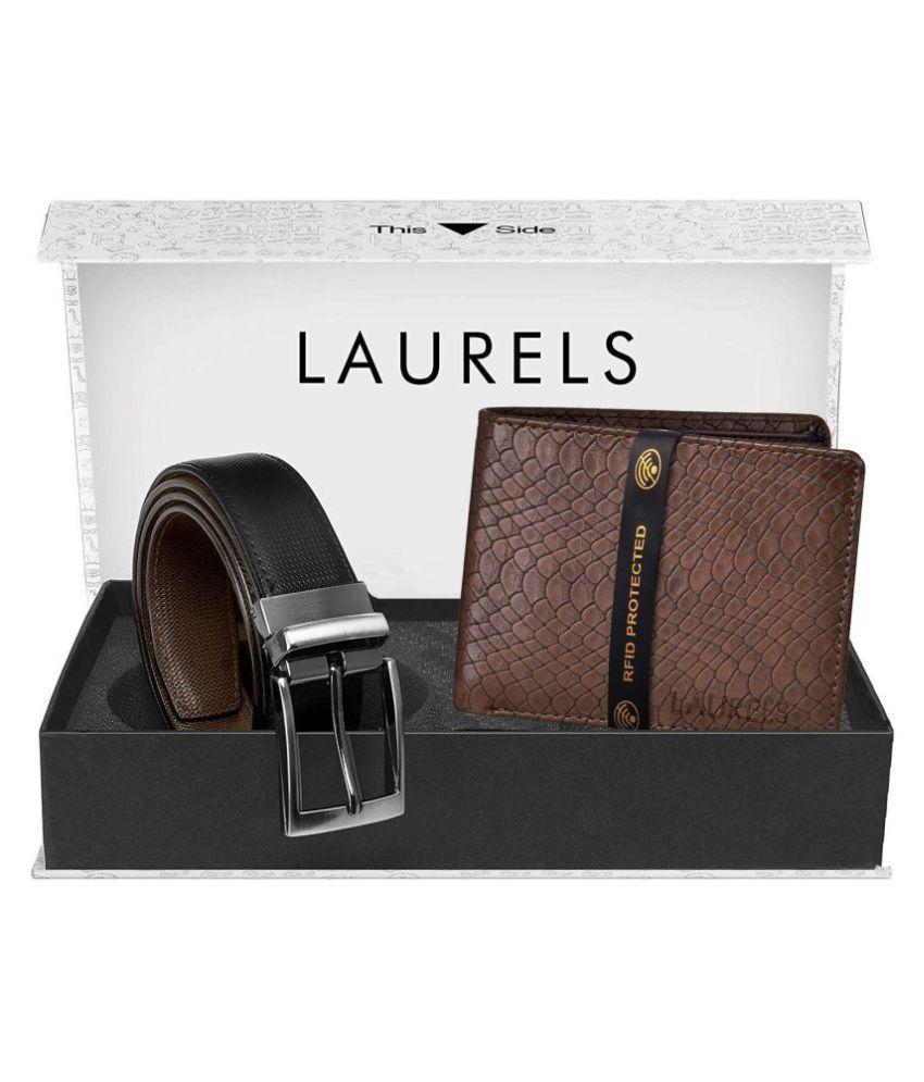 Laurels Select Belts Wallets Set