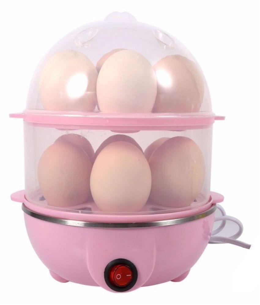 Shah's Creativity double Layer Egg Boiler Poacher Cooker and Steamer