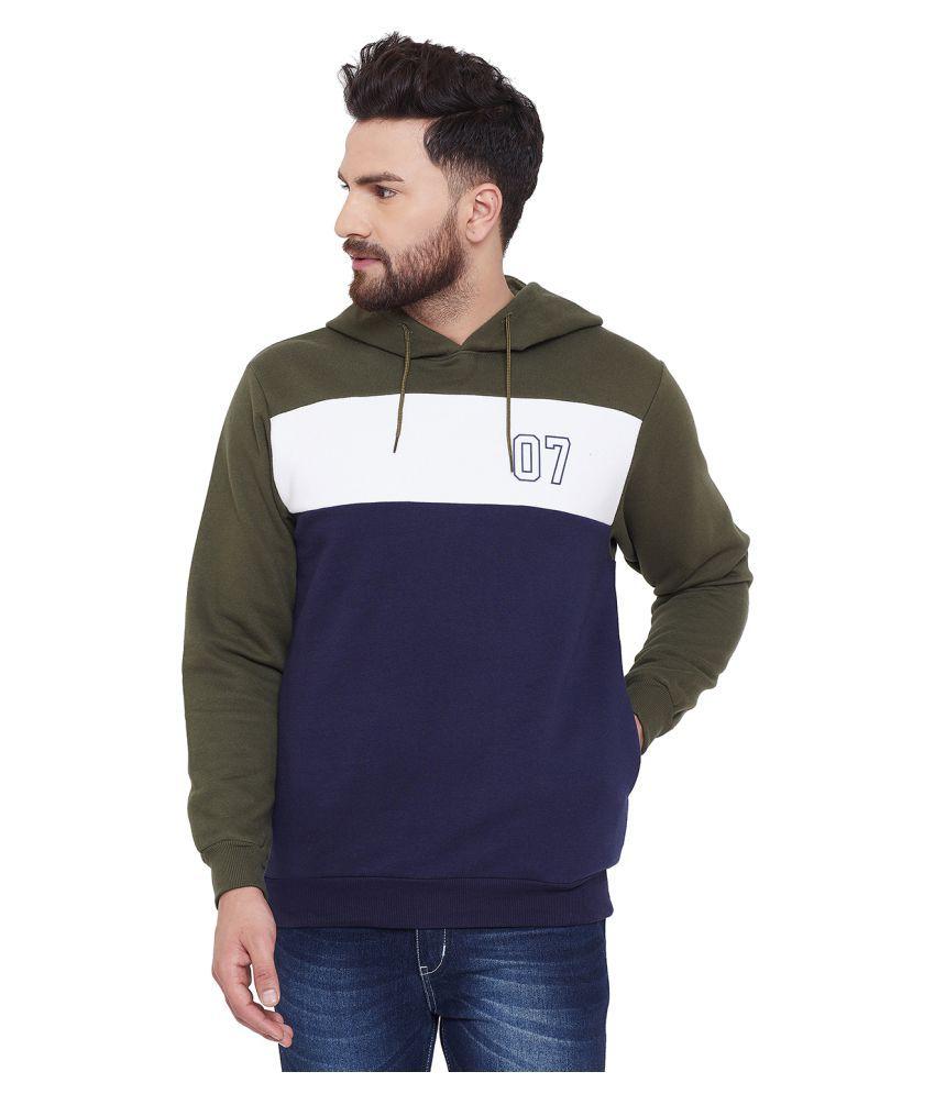 Canary London Olive Hooded Sweatshirt