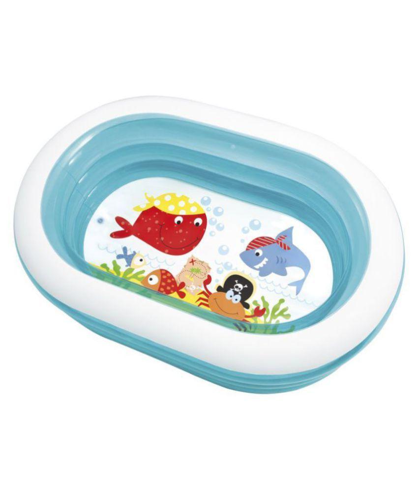yatri creation Intex Oval Fun Pool For Kids Inflatable