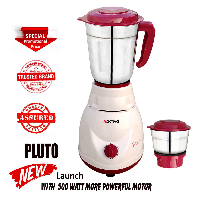 Activa Pluto 500 Watt 2 Jar Mixer Grinder