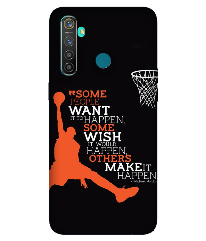 Realme 5 Printed Cover By Emble