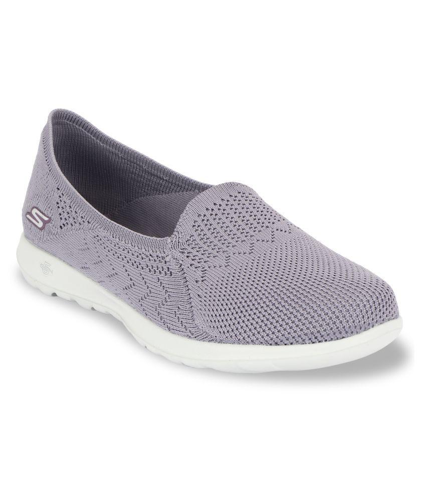 Skechers Purple Casual Shoes