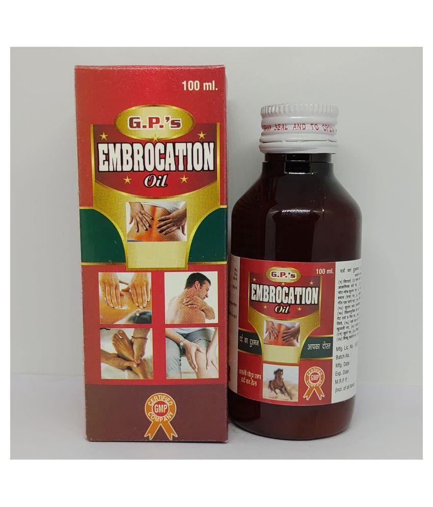Guapha Pharmaceuticals Shiva Embrocation Liquid 100 ml Pack Of 4