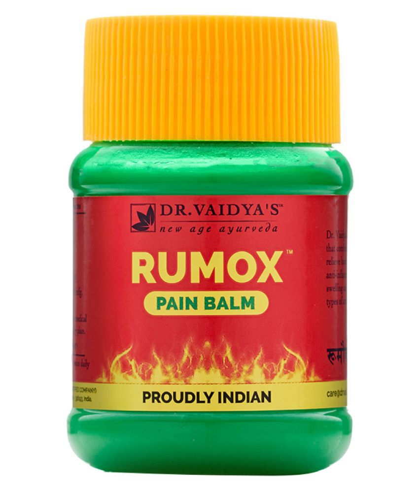 Dr Vaidyas's Rumox Balm - Muscle & Joint Pain Balm Cream Pack Of 2