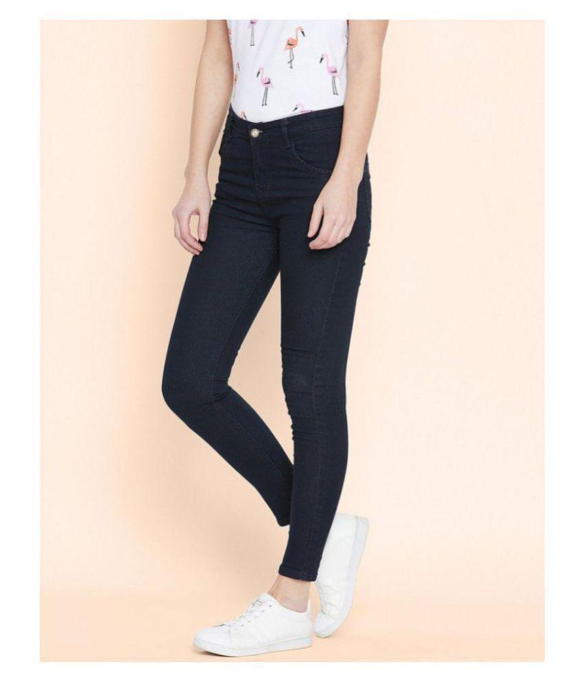 Bombay Clothing Company Cotton Lycra Jeans - Black