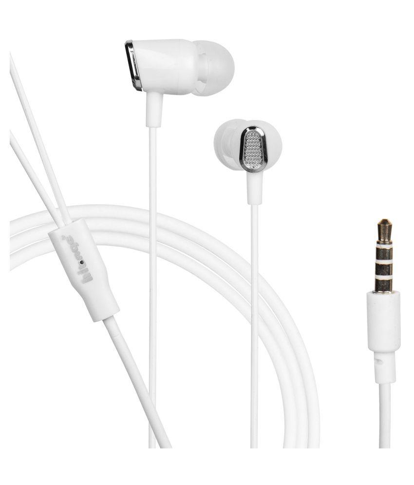 hitage Ocean Series In Ear Wired With Mic Headphones/Earphones