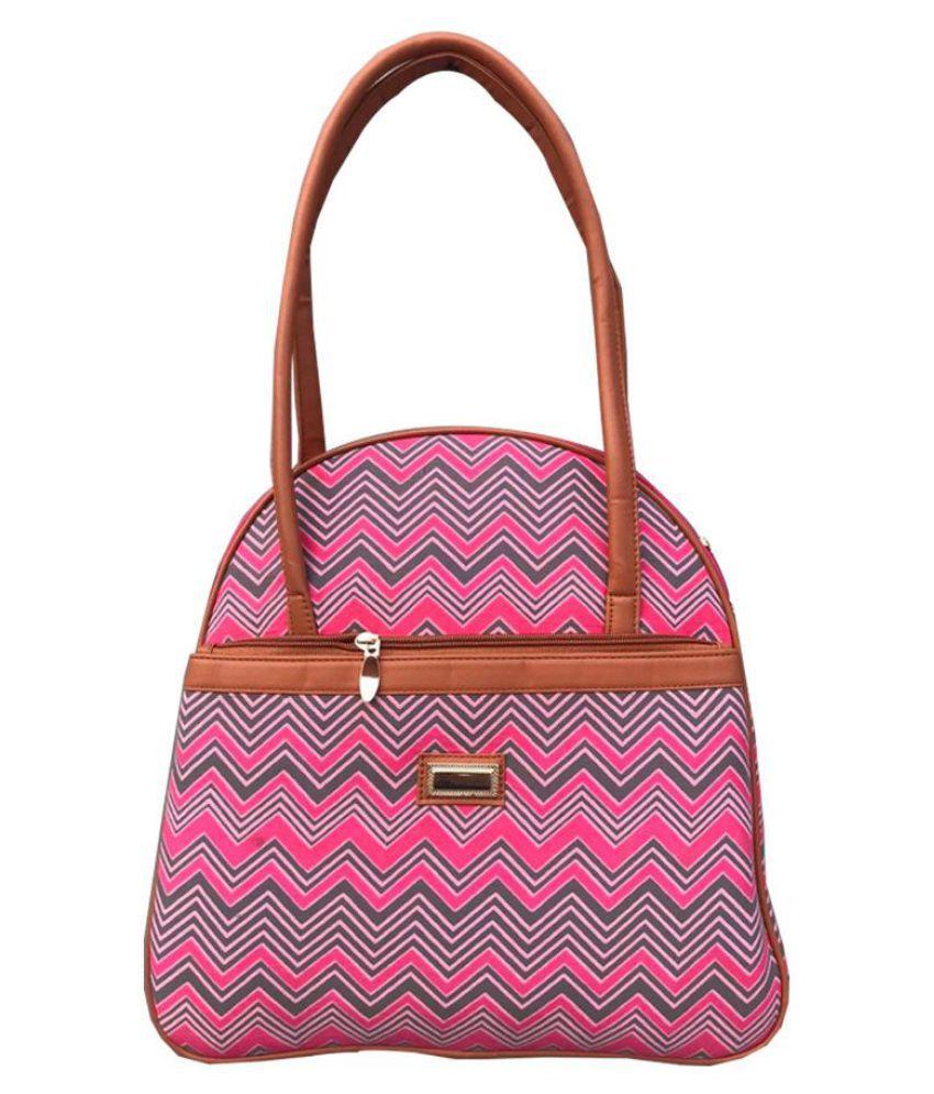 Craferia Export Pink Fabric Tote Bag