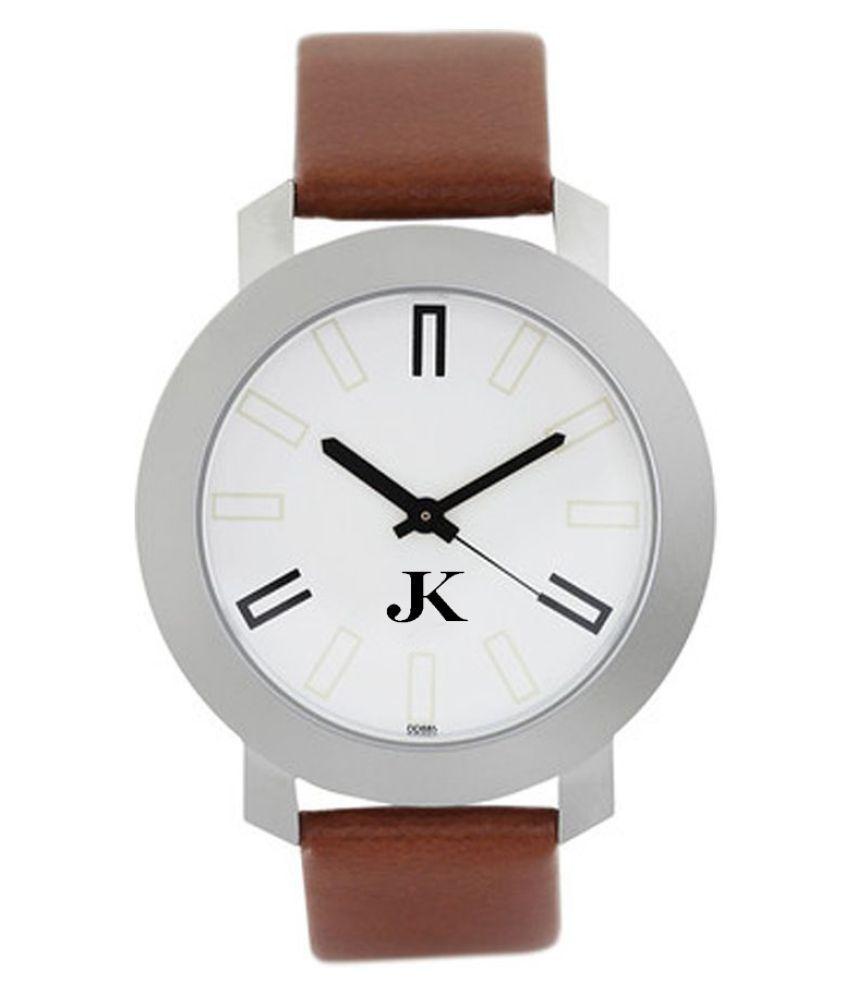 Jack Klein ft3120sl01 Leather Analog Men #039;s Watch