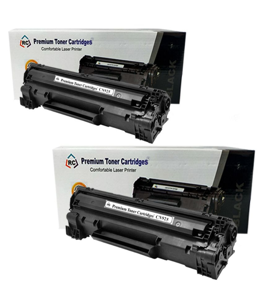 Premium toner cartridges CANON 925 Black Pack of 2 Cartridge for Canon LBP 3010,6018,6000 Series