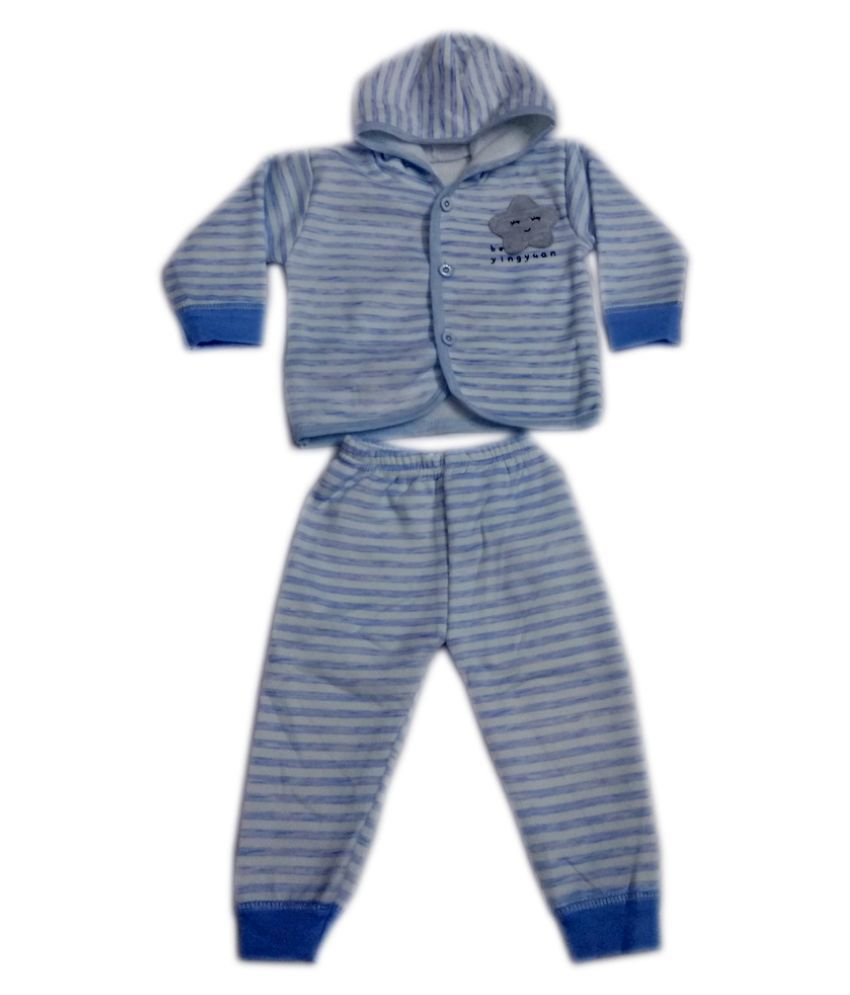 Squnibee Baby Boys & Baby Girls Casual Top Pyjama