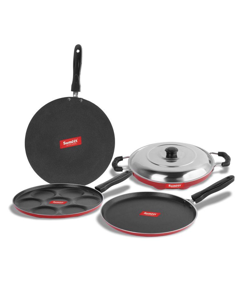 Sumeet Rod Nonstick 5 Piece Cookware Set