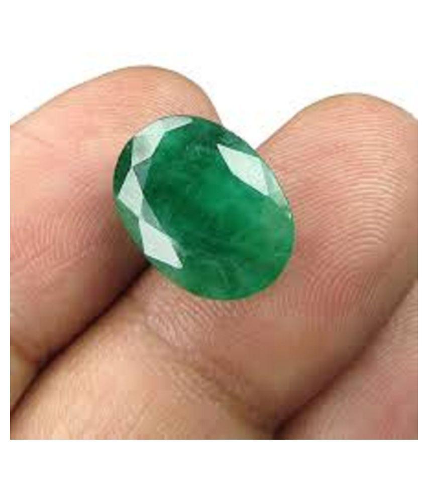 Crafty Soul Design 6.25 -Ratti IGL&I Green Emerald Precious Gemstone