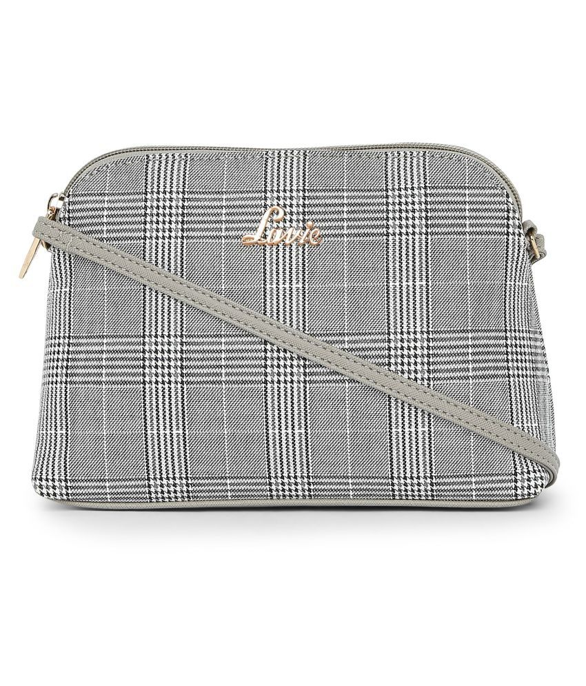Lavie Gray P.U. Sling Bag