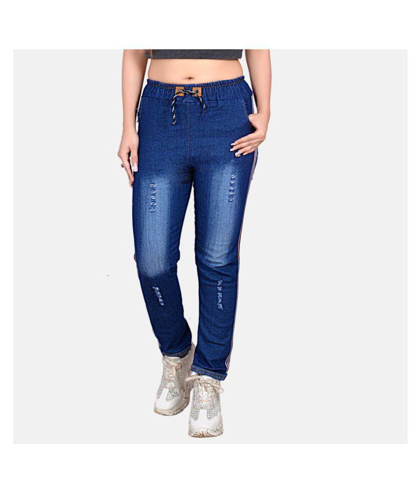 Bossify Denim Lycra Jeans - Navy