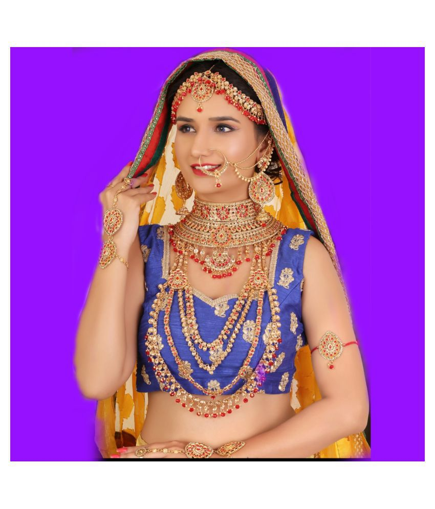 DULHAN JEWELLERY SET G1