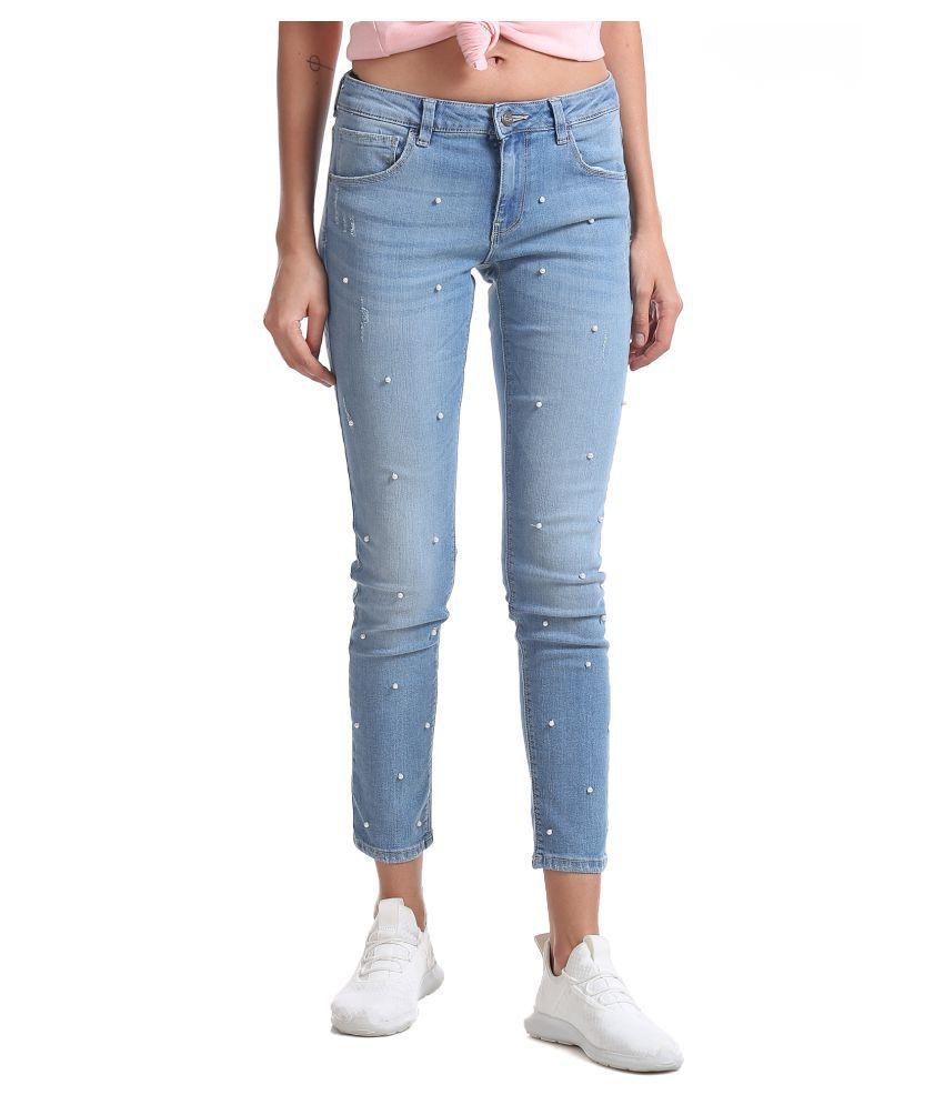 Cherokee Cotton Jeans - Blue