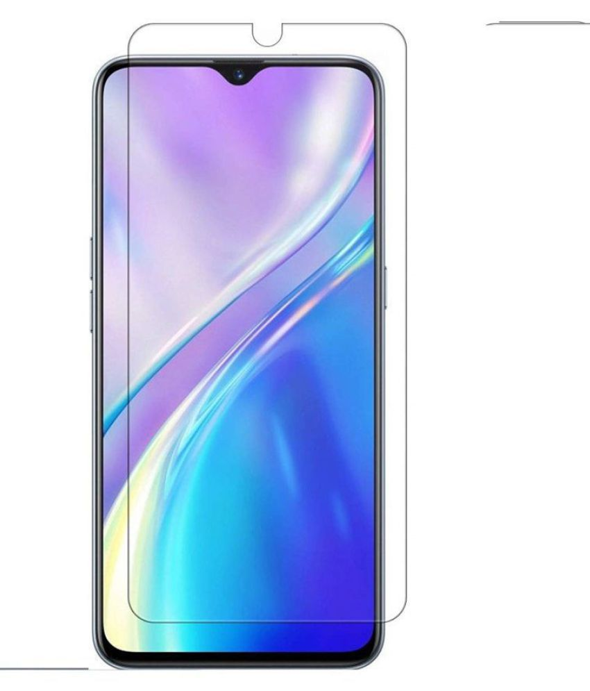 Realme XT Tempered Glass Screen Guard By ULTRA THIN Anti Glare and Dust Resistant