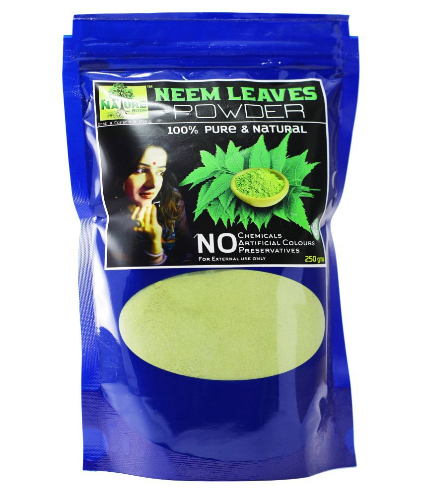 THE NATURE ROOM NEEM LEAVES POWDER Hair Scalp Treatment 250 g