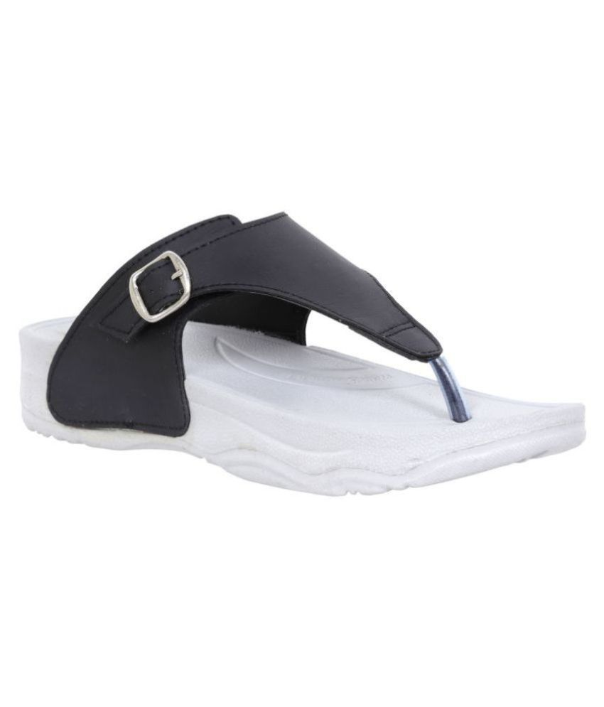 Altek Black Slippers