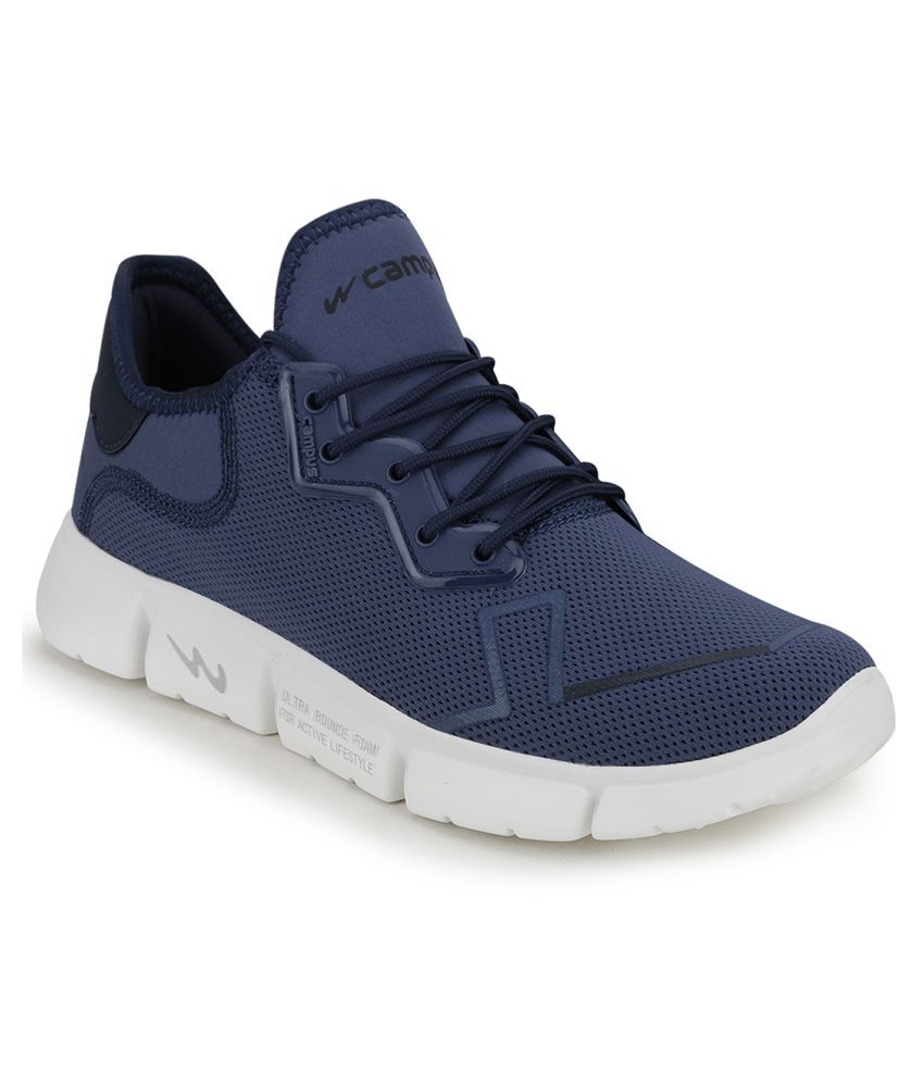 Campus MADRID Blue Running Shoes