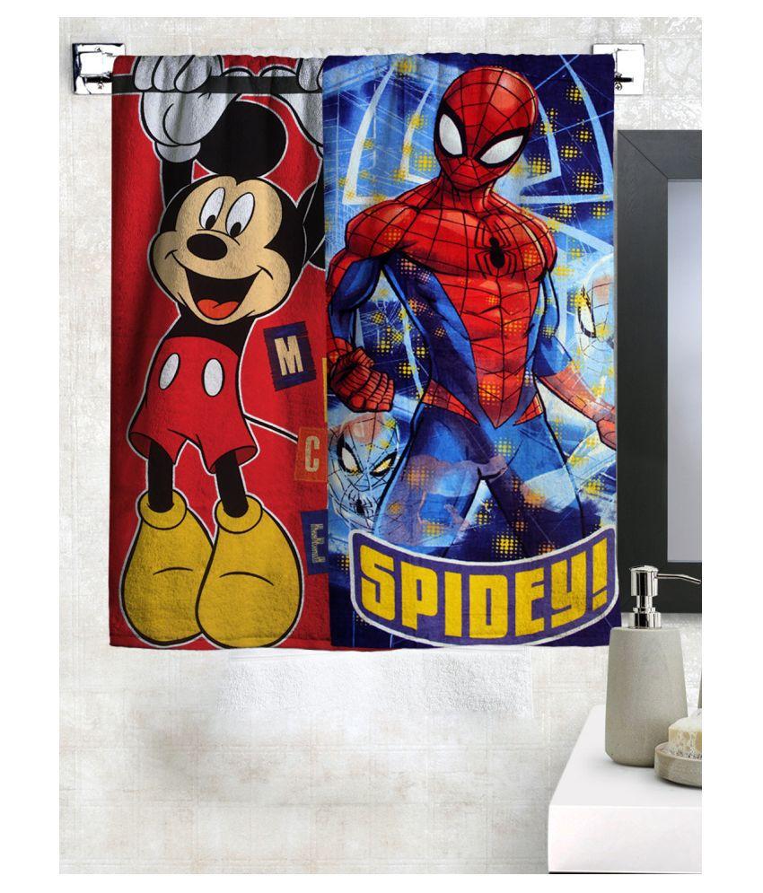 Disney Set of 2 Cotton Bath Towel Multi