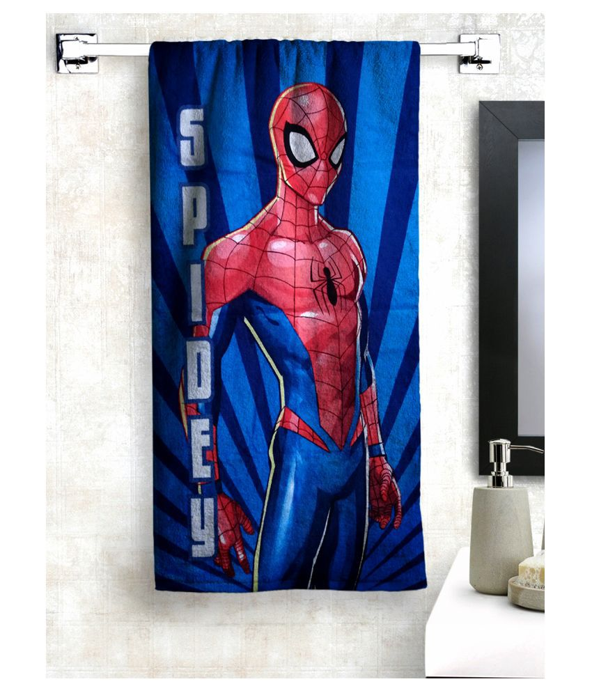 Marvel Single Cotton Bath Towel Multi