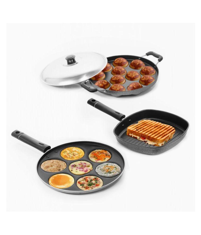 Sumeet Nonstick 4 Piece Cookware Set