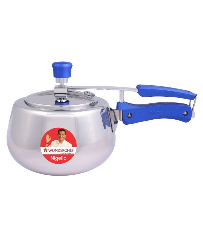Wonderchef 3 L Stainless Steel InnerLid Pressure Cooker With Induction Base