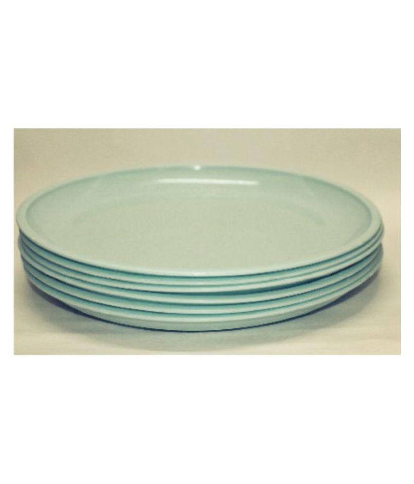 Everbuy Plastic Dinner Set of 12 Pieces