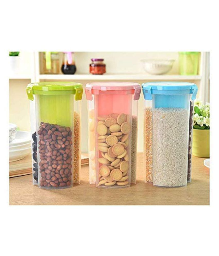Imperial 3 Sections PET Food Container Set of 3 750 mL
