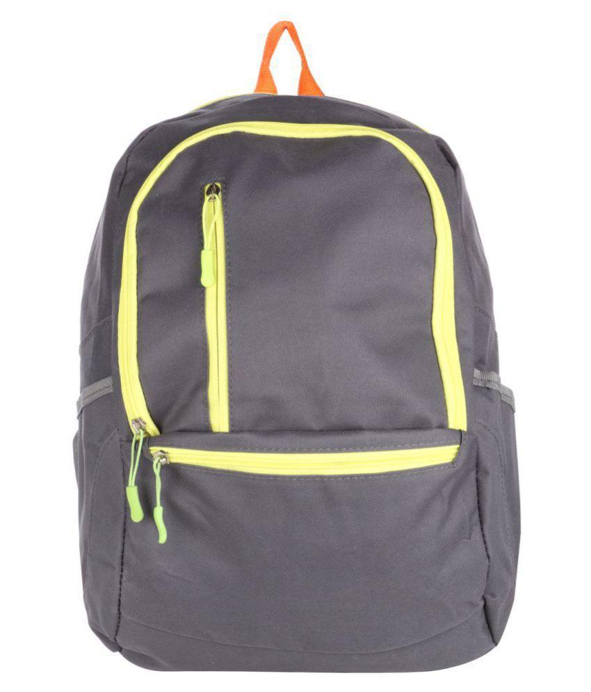 Satchel Bags & Accessories Grey P.U. College Bag