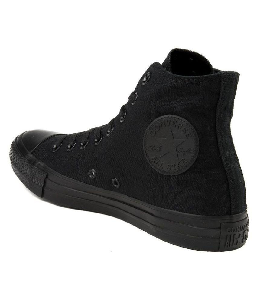 NEEL ALL STAR LONG Black Running Shoes