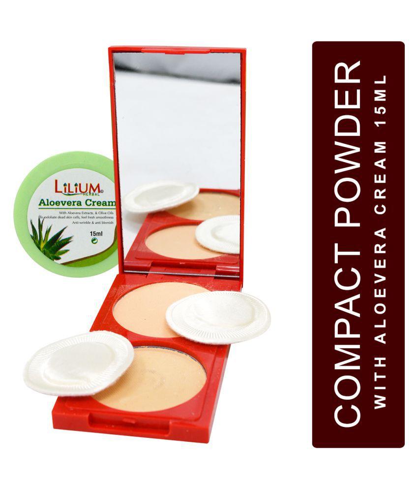 ADS 2in1 Instant Fairness 1126  Pressed Powder With Aloevera Cream Medium 45 g