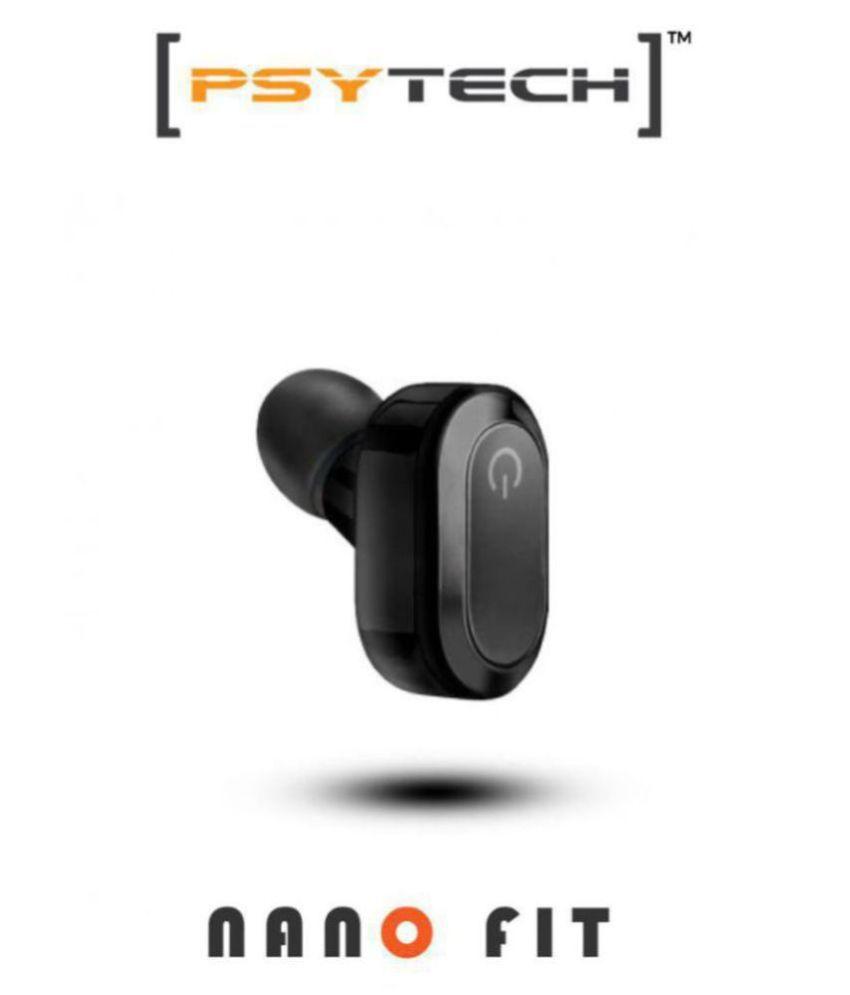 Psytech Nano K15 Ultra Small Bluetooth Headset - Black