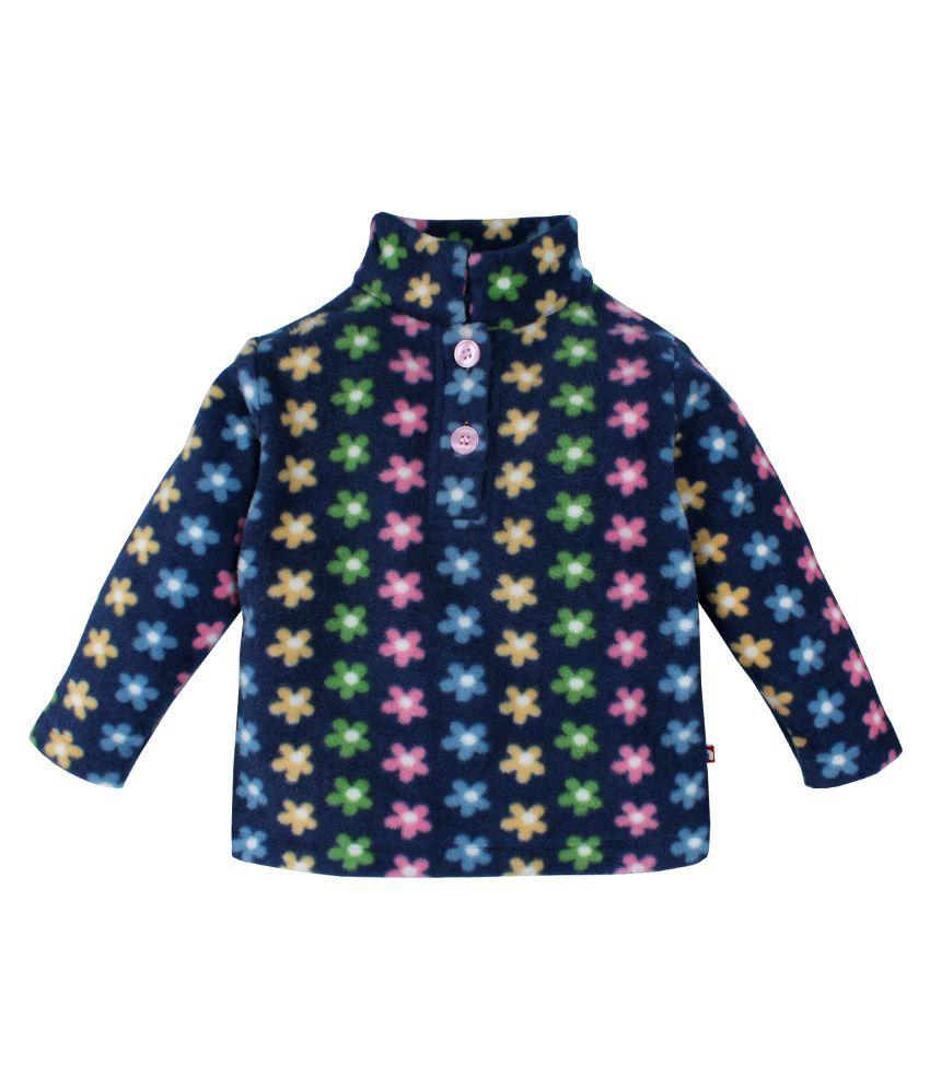 Nino Bambino Blue Multicolor Babies Sweat Shirt