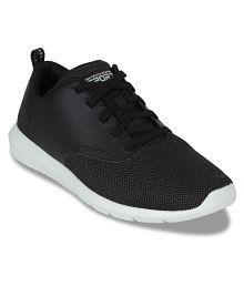 Skechers FOREFLEX-CLICK BAIT Black Running Shoes