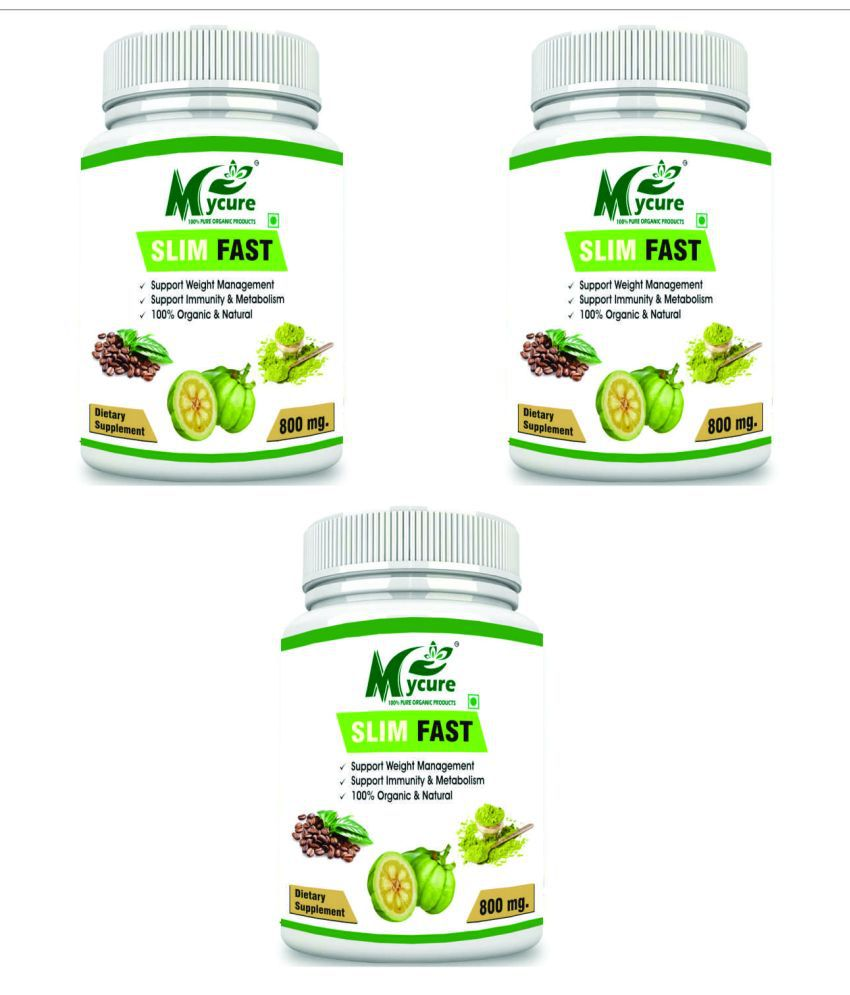 my cure PREMIUM QUALITY SLIM FAST 800 mg Pack of 3