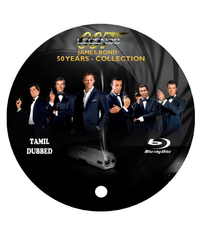 50 Years Of James Bond Movies - Tamil Dubbed ( Tamil & English Duel Audio) ( Blu-ray )- Tamil