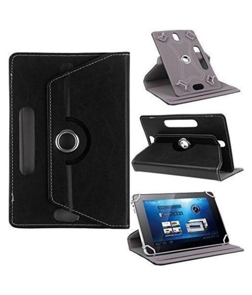 Lenovo S8 Tablet Flip Cover By Cutesy Black
