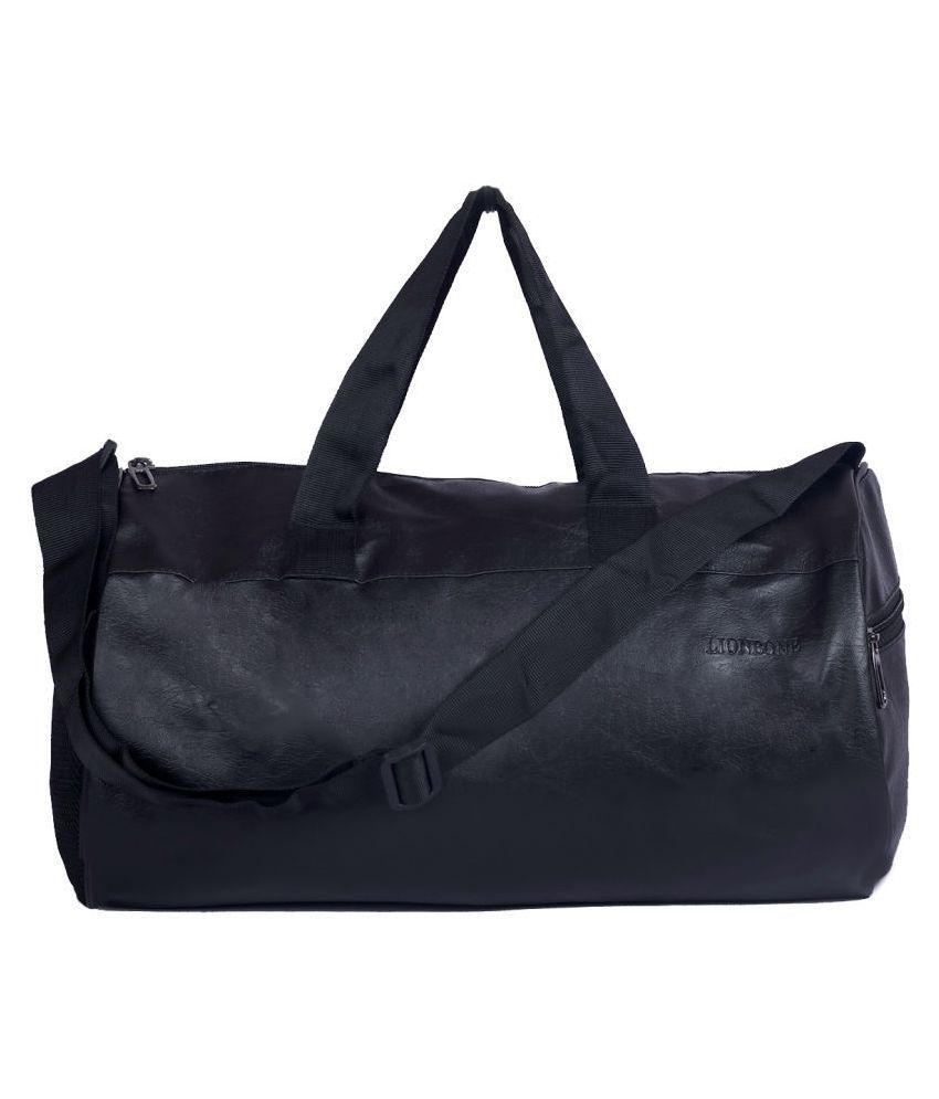 Lionbone Bag Faux Leather Duffle bag with Trendy Design