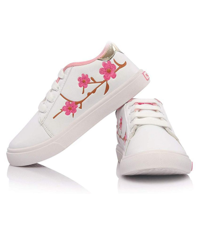 White Sneakers For Girls Price in India