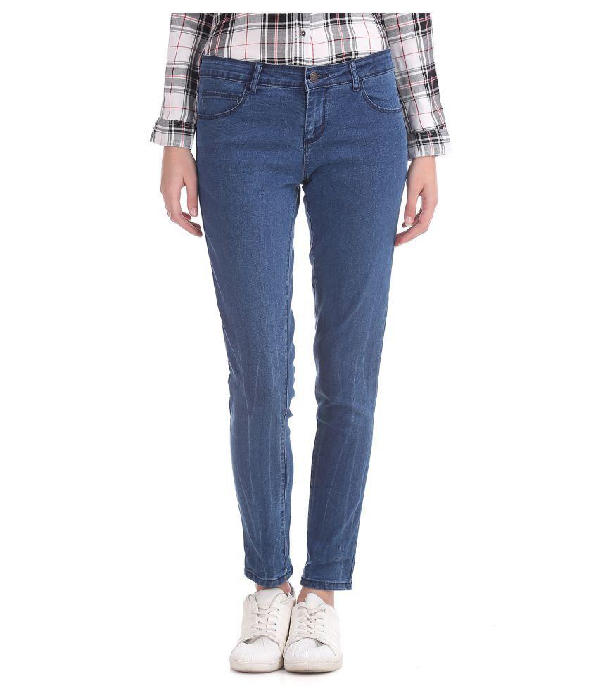 Cherokee Cotton Blue Jeans
