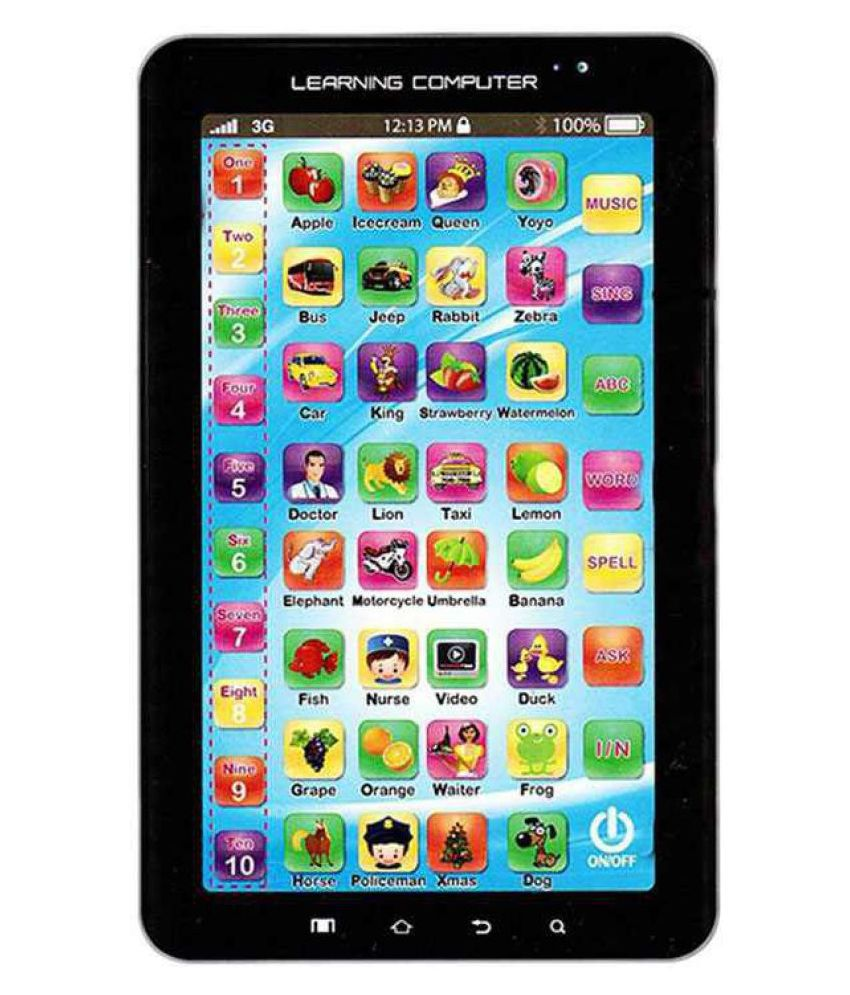 RIZELLE(™)TOY'S P1000 Kids Educational Learning Tablet