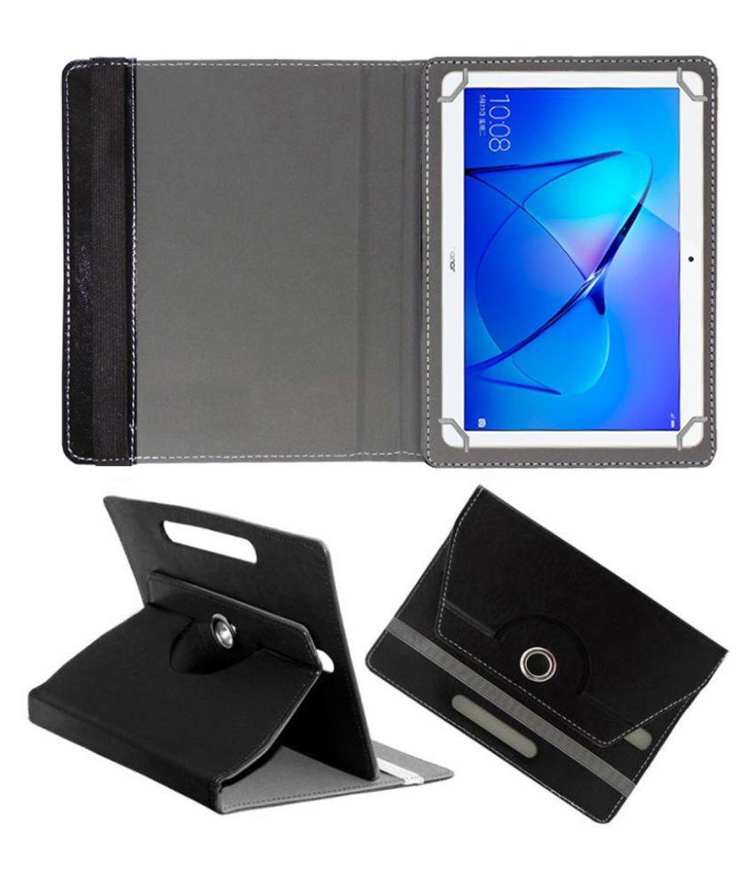 Huawei Honor Mediapad T3 10 Flip Cover By FASTWAY Black