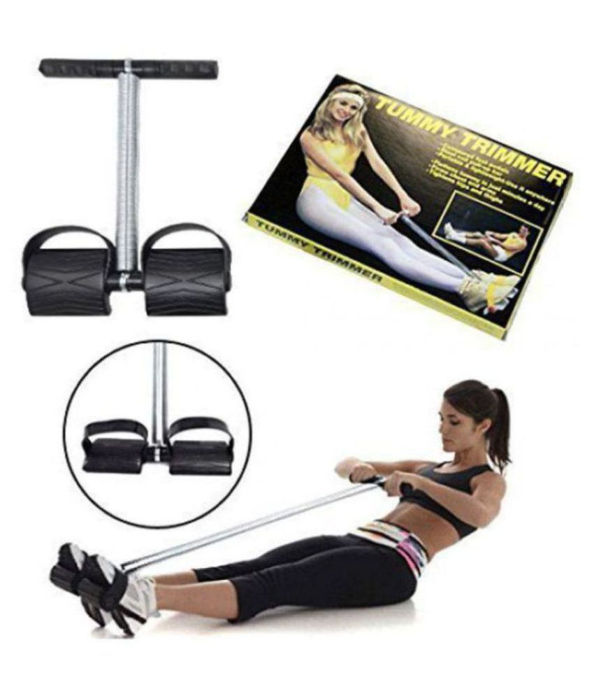 Anjani Impex Abs Tummy Trimmer With DOUBLE Steel Spring Fat Burner  Muscles Ab Exerciser