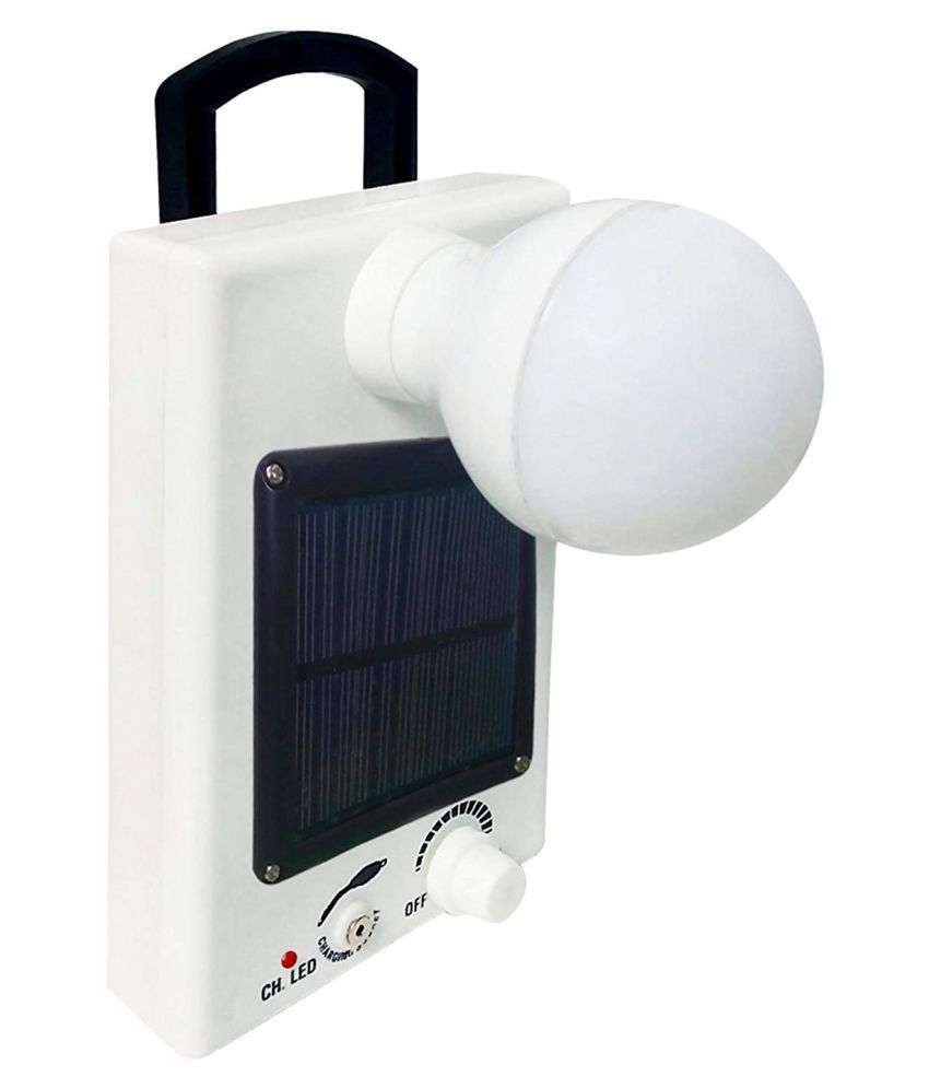 Hanuman Impex 3W Solar Emergency Light - Pack of 1